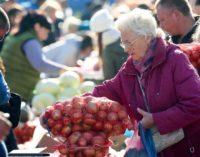 В большинстве регионов с этой субботы начнут работать осенние ярмарки сельхозпродукции