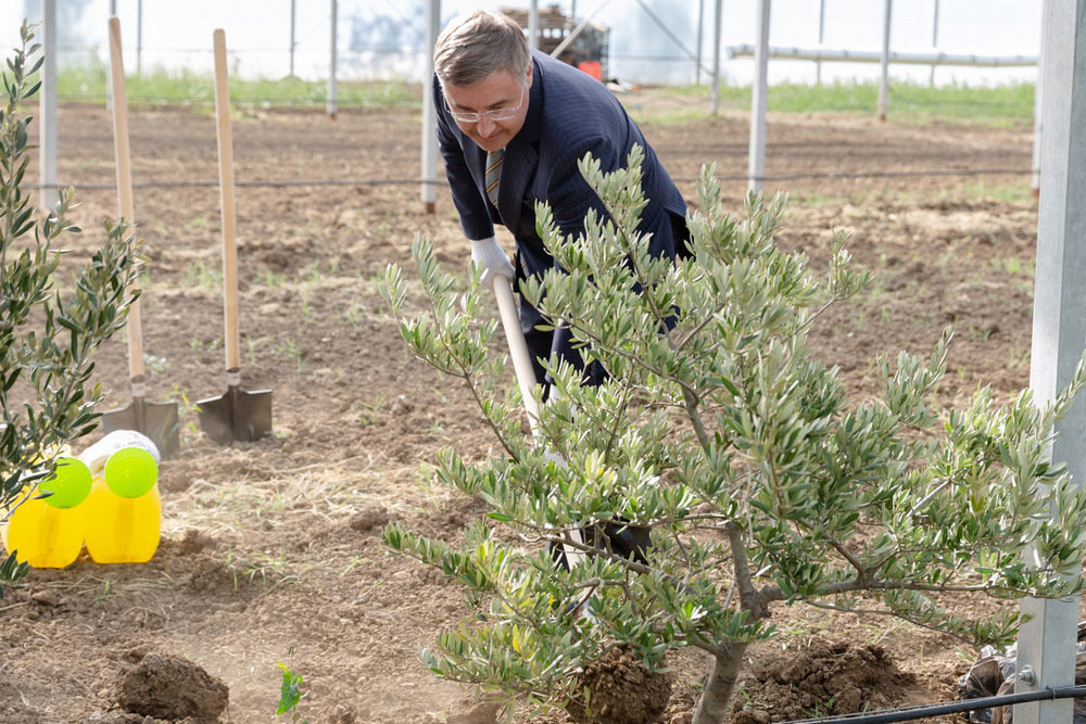 Фальков открыл инновационную сельхоздолину Крымского университета