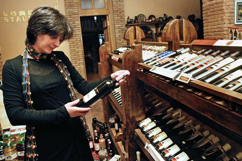 Россия стала самым крупным импортером грузинского вина