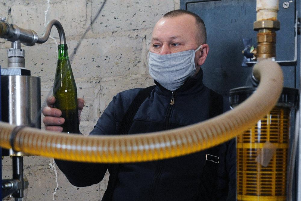 В России сократили производство подсолнечного масла